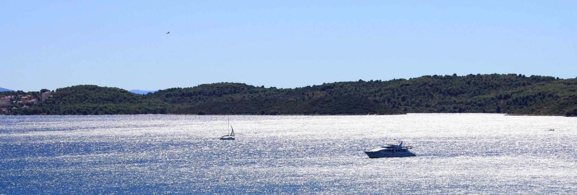 Küste vor Trogir